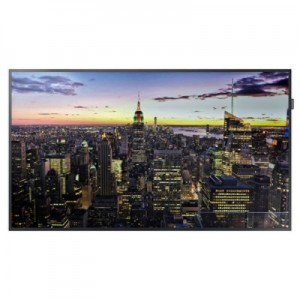 "Samsung QB65H 65"" professional display -- QB-H series"