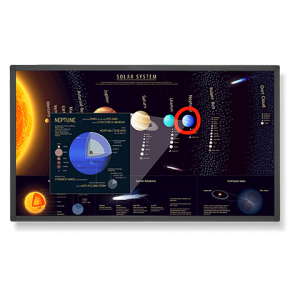 """NEC E651-T E Series - E651-T 65"""" Large Format Touch Display"""