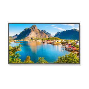 """NEC E805-AVT2 80"""" LED Backlit Commercial-Grade Display with Integrated Tuner"""