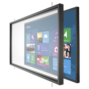 NEC Infrared Multi-Touch Overlay accessory for the V463 large-screen display