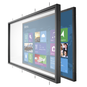 Infrared Multi-Touch Overlay accessory for the V801 large-screen display