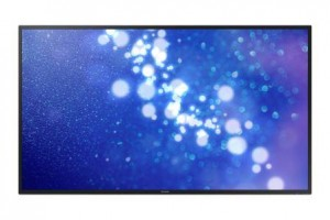 "Samsung DM65E 65"" professional display -- DM-E series"
