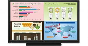 Sharp Electronics PN-L703W AQUOS BOARD® Interactive Display